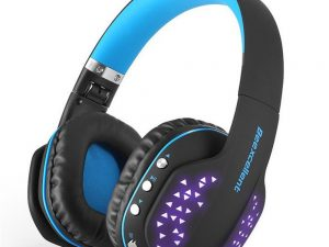 led wireless bluetooth headphones