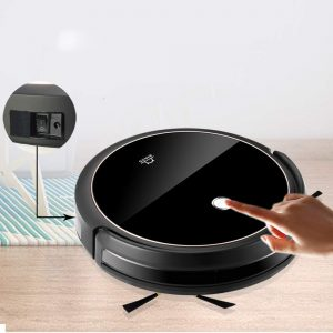 Robot Vacuum Cleaner with Smart Path Planning