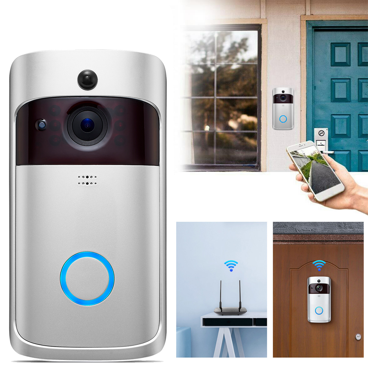 WIFI Doorbell Cam